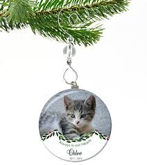pet memorial ornament always in our hearts savor the memories
