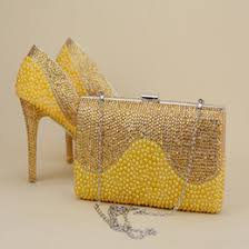 wedding shoes and bags discount wedding shoes bags gold 2018 gold shoes bags for