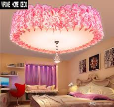 online cheap ceiling lights love fashion pink bedroom romantic