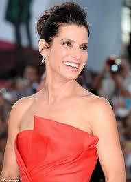 venice film festival 2013 sandra bullock stuns in a scarlet dress