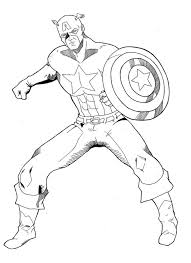 printable 36 captain america coloring pages 2232 collection