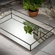 Mirrored Coffee Table Tray by Amazon Com J Devlin Tra 109 Glass Jewelry Tray Mirror Bottom