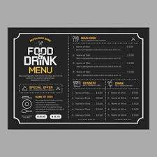 drinks menu vectors photos and psd files free download