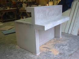 Illuminated Reception Desk Concrete Reception Desk Arch Dsgn