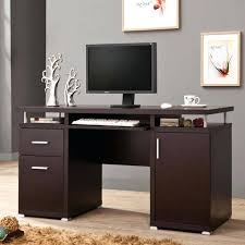 Desk With Computer Storage Modern Computer Desk With Storage Modern Wood Computer Desk Modern