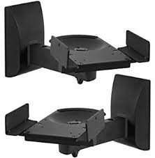 Speaker Wall Mounts Amazon Com Pinpoint Mounts Am15 Black Universal Center Channel