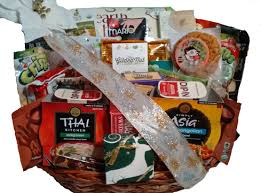 Vegan Gift Baskets Vegan Gourmet Christmas Basket Vegetarian Basket Christmas