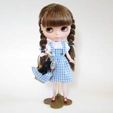 dorothy from wizard of oz costume wizard of oz costumes for blythe dolls brown eyed rose