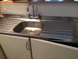 double drainer kitchen sink stainless steel single bowl double drainer kitchen sink good