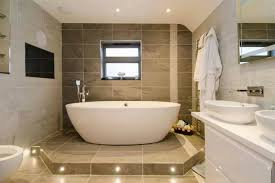 Interior Designer Ideas Tiles Design Choosing New Bathroom Design Ideas Large Brown