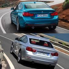 lexus rc vs bmw 4 series photo comparison bmw 4 series facelift vs bmw 4 series pre facelift
