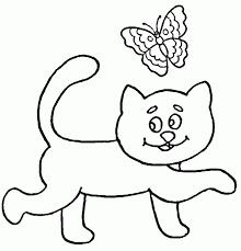 imágenes de gatos fáciles para dibujar divertidas imagenes de gatos tiernos para colorear a lápiz fotos