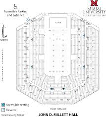Concert Hall Floor Plan Visit Us Performing Arts Series Cca Miami University