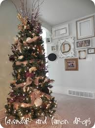 impressive decoration brown tree decorations gold and