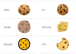 fail samsung dishonors cookie monster by using a cracker as