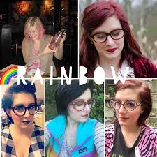 behind the leopard glasses hair evolution