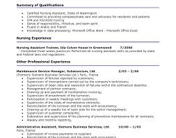 100 cna resume template free monstercom resume templates free
