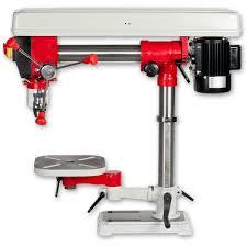 axminster hobby series ahrd16b bench radial drill pillar drills