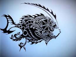 mechanic tattoos mechanical fish tribal tattoo by jaguarcliff on deviantart