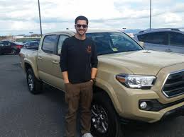 toyota dealer sales cody altizer u0027s first new vehicle an awesome toyota tacoma sales