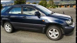 lexus of new zealand bequick 1998 toyota harrier lexus rx300 skivehicle nelson new