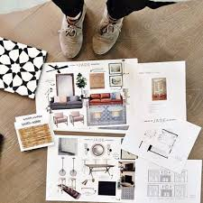 i want to be an interior designer how to present a design board to your interior design client
