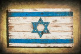 home decor wall pictures handmade distressed wooden israel flag vintage art distressed