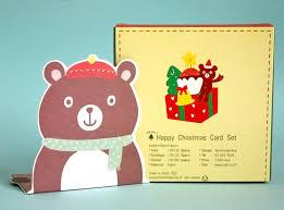 kawaii christmas cards u0026 stickers sweet sunday shop u2013 kao ani com