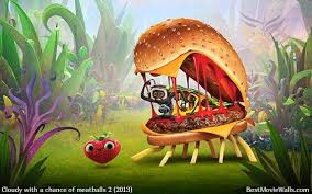 cloudy chance meatballs 2 cheespider wallpaper hd