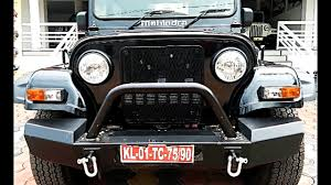 thar jeep white mahindra thar diesel crde 4x4 bs4 complete review youtube