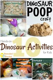 17 easy and fun dinosaur crafts for kids of all ages