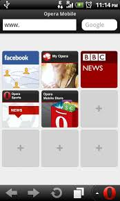 opera mini version apk opera mobile 11 1 silent update 1 for android now