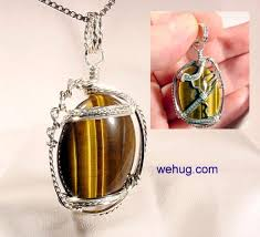 custom silver pendants style jewelry for sale wire wrapped style