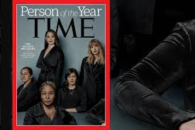 time 2017 person of the year whose arm is on the cover time