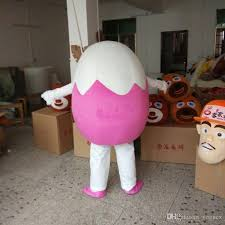 Egg Halloween Costume Easter Egg Cartoon Dolls Clothing Walking Cartoon Drawings