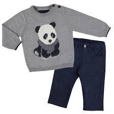 panda sweater panda set tadpoles tiddlers