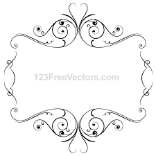 vintage frame template free vector 123freevectors