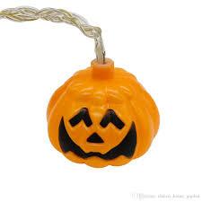 2017 halloween waterproof 3d pumpkin led string lights decorations