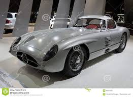 classic mercedes coupe mercedes benz 300 slr w196s uhlenhaut coupe vintage car editorial