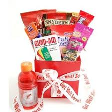 get well soon gift ideas get well soon snack care package gift ideas