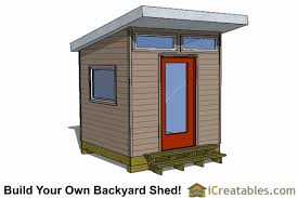How To Make A Storage Shed Plans by 8x8 Storage Shed Plans Easy To Build Designs How To Build A Shed