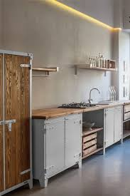modern kitchen cabinets metal 25 trendy freestanding kitchen cabinet ideas digsdigs