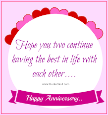 Anniversary Wishes To Daughter And Happy Anniversary Quotes For Friends Wishes Pinterest Happy