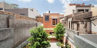 Spanish House Plans With Courtyard House 1014 H Arquitectes Archdaily