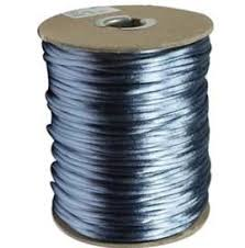 rattail cord 2mm satin rayon rattail cord williamsburg blue by the yard