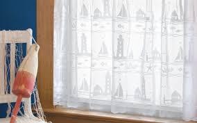 Lighthouse Window Curtains Impressive Lighthouse Window Curtains Inspiration With Nautical