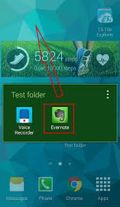 how to use app folders in galaxy s5 home screen samsung galaxy