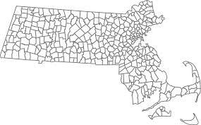 Map Of Massachusetts Cities by File Map Of Massachusetts Townships Plain Svg Wikipedia