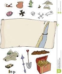 Treasure Map Clipart Make Your Own Treasure Map Royalty Free Stock Photography Image