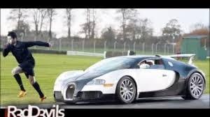 bugatti vs cristiano ronaldo vs bugatti veyron dailymotion